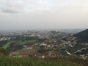 The view from Mont Febe.